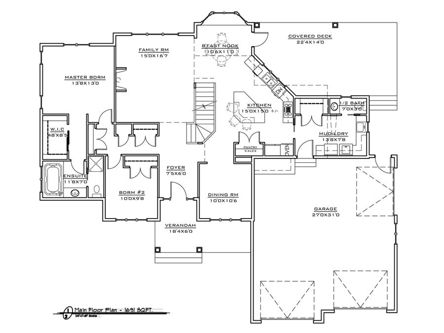 Acreage 1 Home Design Fine Line Homes Calgary Home