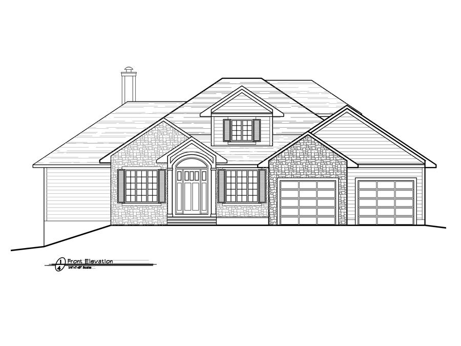 Acreage 1 Home Design | Fine Line Homes - Calgary Home Builders