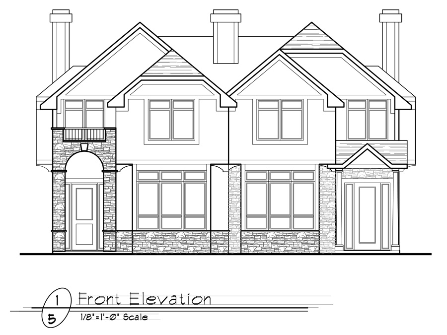 Inner City 2   Front Elevation