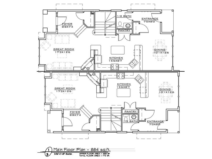Inner City 2 Home Design Fine Line Homes Calgary Home