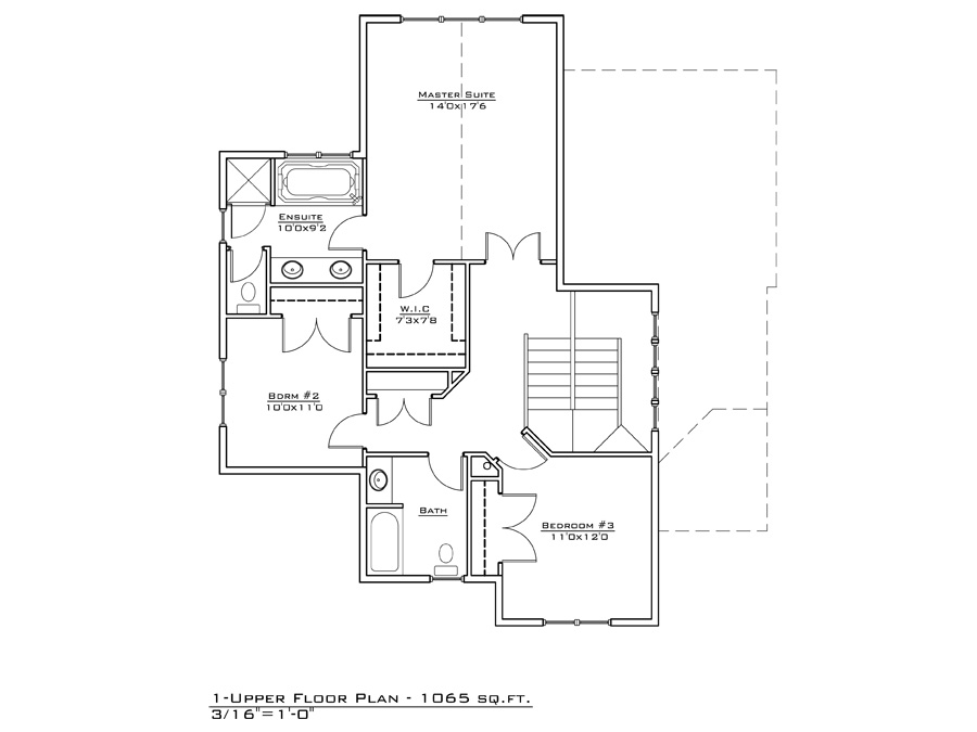 Town Lot 1 Home Design Fine Line Homes Calgary Home
