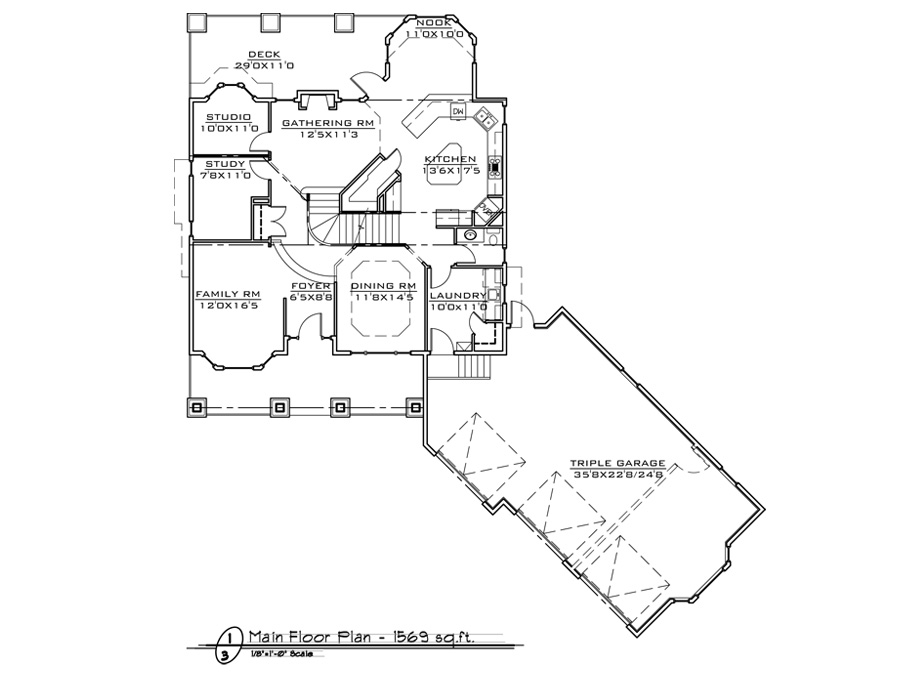 Town Lot 2 Home Design Fine Line Homes Calgary Home